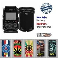 Garskin hp Blackberry Onyx 1 / Bold 9700 harga grosir bisa pakai foto