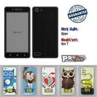 Garskin hp Oppo Neo 7 branded murah bisa pakai foto sendiri