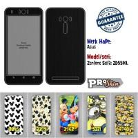 Garskin hp Asus Zenfone Selfie ZD551KL harga grosir motif kustom
