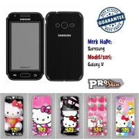 Garskin hp Samsung Galaxy V branded murah bisa pakai foto sendiri