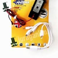 USB charger/Cas HP Blackbery/samsung/iphone atau CDMA di motor
