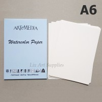 ARTeMEDIA Watercolor Paper A6 (12 lembar)