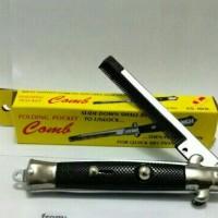 Sisir Lipat / Switch Comb Untuk Rambut Ala Rockabilly