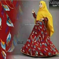Naima hijaber syari modern kualitas butik sale best product