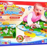 Playmat Musik Termurah Terlaris Baby farm music play mat