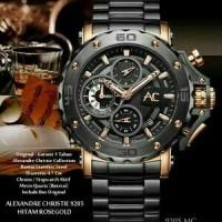 Jam Tangan Pria / Cowok Alexandre Christie 9205 MC Original