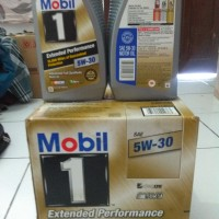 Oli mobil 1 5w30 extended performance nascar dexxos 1