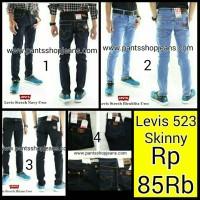 Celana Jeans Skinny Merk Levis 523 Untuk Cowo