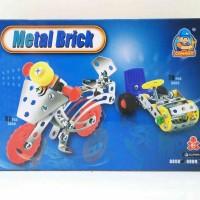Harga Mainan edukatif metal brick kecil model sepeda motor model 8808   WIKIPRICE INDONESIA