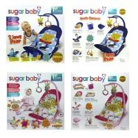 sugar baby infant seat sugarbaby - bouncer - kursi goyang bayi premium