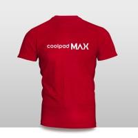 Harga kaos baju pakaian gadget handphone coolpad max logo font | antitipu.com