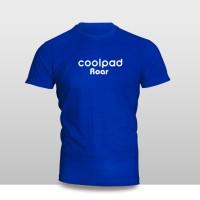 Kaos Baju Pakaian GADGET HANDPHONE Coolpad Roar Logo Font murah