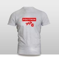 Harga kaos baju pakaian gadget handphone polytron zap 6 logo font | antitipu.com