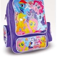 tas anak murah, tas anak perempuan motif little pony cantik grd 672