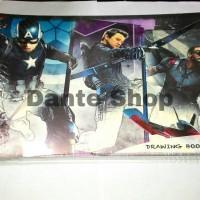 Buku Gambar A4 Avengers ( Motif Cowok )
