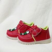 harga 1 2 3 tahun sepatu anak velcro keroppi / sepatu dengan perekat KLU03 Tokopedia.com