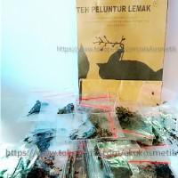 Teh Peluntur Lemak - TPL - Teh Pelangsing - 1Pack isi 60pcs