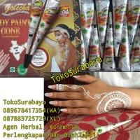 Golecha Body Paint Cone White Hena Henna Henna Putih