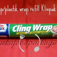 Cling wrap/plastik wrap klinpak 30cm