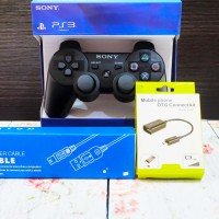 Stik PS3 Op + charger Usb + OTG paket android