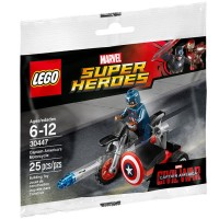 Lego 30447 Captain America's Motorcycle