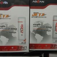 Modem USB Advan Jetz Original HSUPA HSDPA 3G 3.5G DT10 DT-10 3 in 1