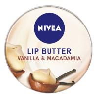 Nivea Lip Butter Vanilla & Macadamia 16.7g