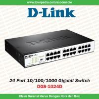 D-Link 24 Port Gigabit Switch Dgs-1024D
