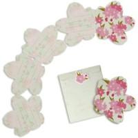 harga [Cards] Cherry Blossom Card Set Papercraft Tokopedia.com