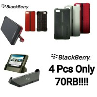 SUPER SALE!! Blackberry Z10 (Charging Dock & 3 Pcs Transform Shell)