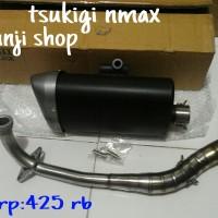 Knalpot Nmax Tsukigi Non Embos