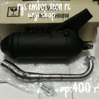 harga knalpot xeon rc tsukigi rgs embos ori thailand Tokopedia.com