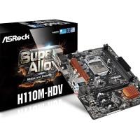 Motherboard Asrock H110M-HDV - DDR4 (Socket 1151)