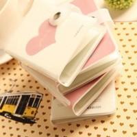 Dompet Kartu Gambar Hati / Dompet murah / dompet fashion simple