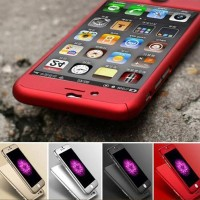 Casing Hp Cover Iphone 5 5s 6 6s 6 Plus 6s Plus 360 Case Free Tempered