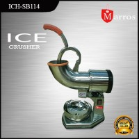 Jual Ice Crusher / Mesin Penyerut Es Batu Fomac ich-sb114 Stainless Steel Murah