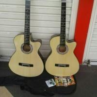 Jual (Gojek - Gosend) Gitar Akustik Pemula Mantap Murah