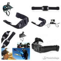 Helmet Strap Mount For Xiaomi Yi And GoPro -