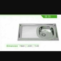 SINK / BAK CUCI PIRING / ROYAL SB 35