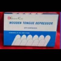 Tongue spatel kayu / tong spatel kayu / wooden tongue / spatel lidah