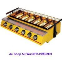 harga Pemanggang Gas 6 Tungku Getra Et-k 333/ 6 Big Burner Bbq,otak-otak, Tokopedia.com
