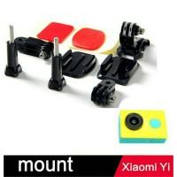 Jual Dudukan helm/Helmet Side Shot Set for Xiaomi yi and gopro hero Murah