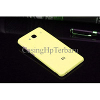 Matte Battery Back Cover Replacement for Xiaomi Redmi 2 / Prime Yellow