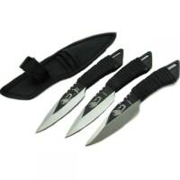 Pisau / Pisau Survival / The Scorpion Fixed Blade Throwing Knife