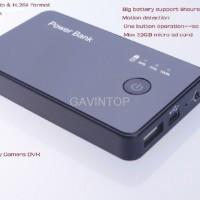 Kamera Pengintai Powerbank 3000mah Mini Dvr With Hidden Camera