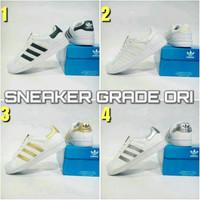 Sepatu Adidas Superstar Grade Original Putih Murah Grosir Pria Wanita