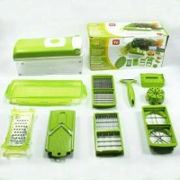 Genius Nicer Dicer Plus | Pemotong Serbaguna ( As Seen On Tv )