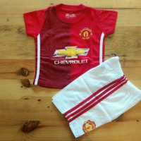 Jual SETELAN BAYI Manchester United / Jersey Bola MANCHESTER UNITED Home Murah