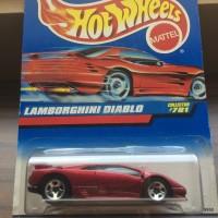 Hot Wheels Lamborghini Diablo Red