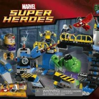 lego 76018 Super heroes Hulk lab smash